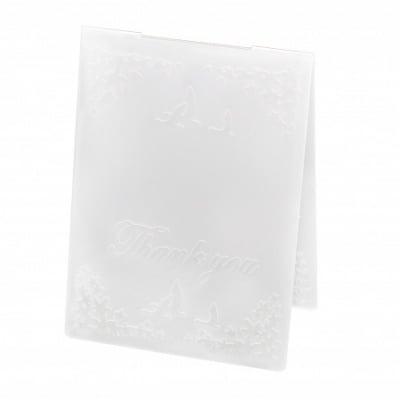 Папка за релеф 10.5x14.5 см -Thank you