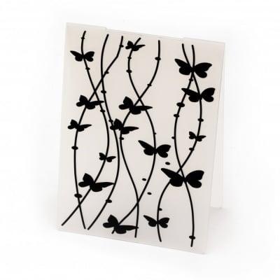 Папка за релеф 14.8x10.5 см -пеперуди