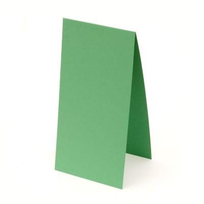 Основа за картичка 10x20 см хоризонтална цвят зелен -10 броя