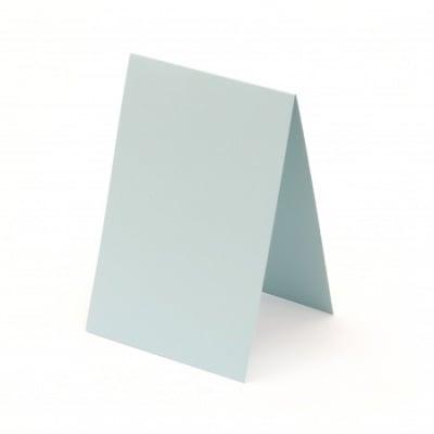 Основа за картичка 10x15 см хоризонтална цвят син светло -10 броя