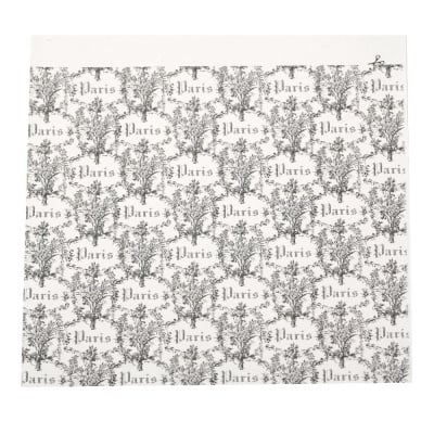 Дизайнерска хартия за скрапбукинг 20.9x20.8 см релефна -1 лист
