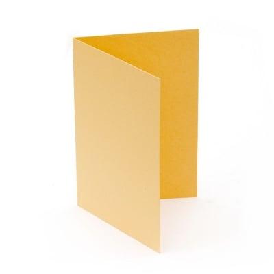 Основа за картичка 10x15 см вертикална цвят оранжев 10 броя