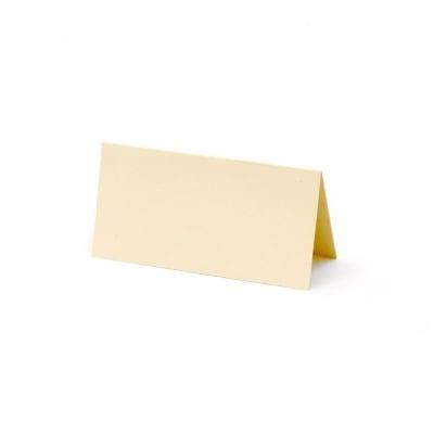 Основа за картичка 5x10 см вертикална цвят шампанско -10 броя
