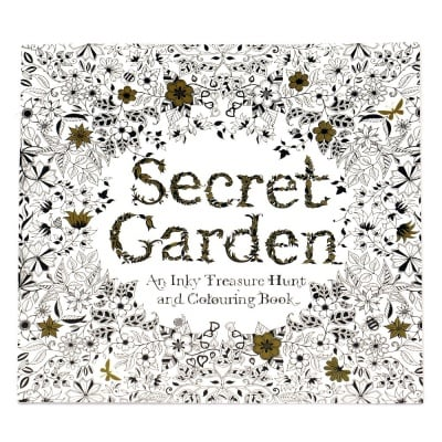 Книжка за оцветяване антистрес 24x24.5 см 24 страници - Secret Garten