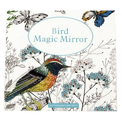 Книжка за оцветяване антистрес 24x24.5 см 24 страници - Bird Magic Mirror