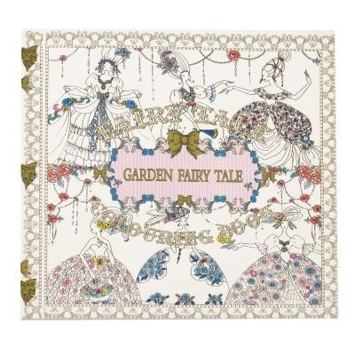 Книжка за оцветяване антистрес 24x24.5 см 24 страници - Garden Fairy Tale