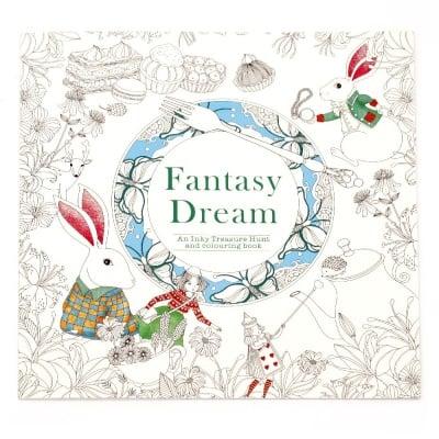 Книжка за оцветяване антистрес 24x24.5 см 24 страници - Fantasy Dream