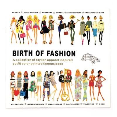 Книжка за оцветяване антистрес 24x24.5 см 24 страници - Birth Of Fashion