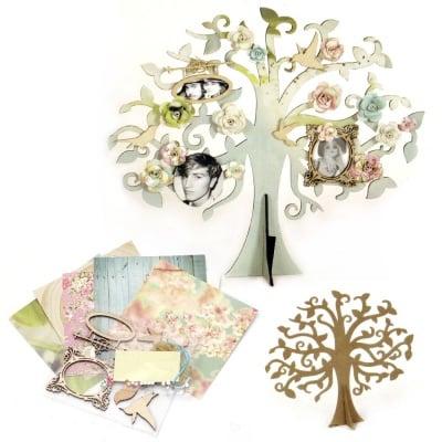 Комплект за направа и декорация на дърво 34x30x12 см
