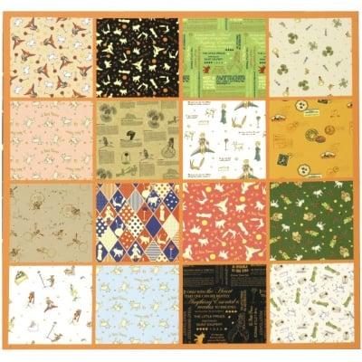 Дизайнерска хартия за скрапбукинг книга (22.5x30.4 см) 8 дизайна x 2 листa (30.5x45 см) Le Petit Prince
