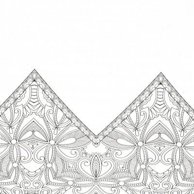 Xартия за скрапбукинг 12 inch(30.5 x 30.5 см) едностранна 160гр/м2 -1 лист