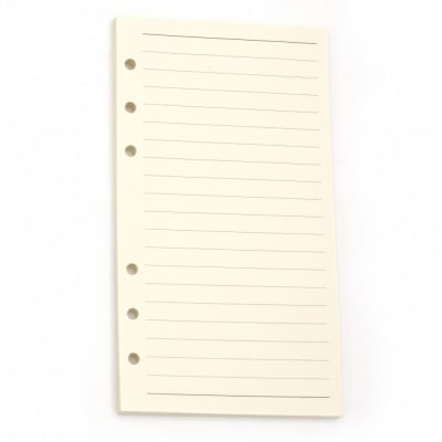 Резервни страници за албум или тефтер 45 броя 94x172см бели на редове