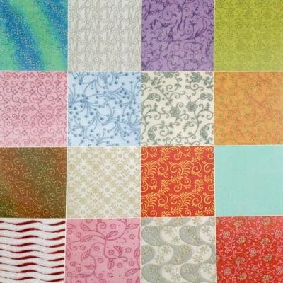 Албум дизайнерска индийска хартия 120 гр за скрапбукинг, арт и крафт текстилна 21x29.7 см, COLOUR WOOLY - 60 дизайна