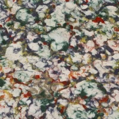 Непалска хартия 60 гр ръчна 50x73 см Marble Pulp Dye - многоцветна