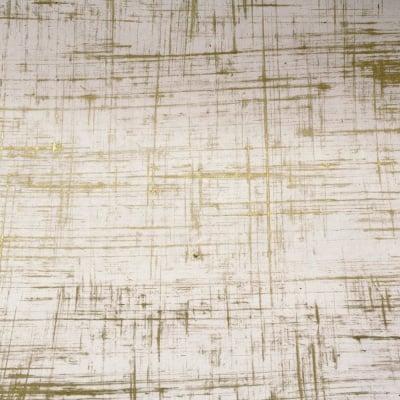 Непалска хартия 60 гр ръчна 51x76 см Brush Strokes - натурална със злато