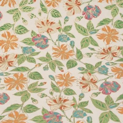 Дизайнерска индийска хартия 120 гр за скрапбукинг, арт и крафт 56x76 см Summer Flowers HP03