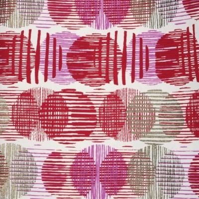 Дизайнерска индийска хартия 120 гр за скрапбукинг, арт и крафт 56x76 см Gold Pink Red HP06