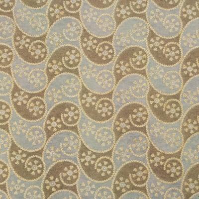 Дизайнерска индийска хартия 120 гр за скрапбукинг, арт и крафт 56x76 см текстилна NON WOVEN Gold Yelow Brown HP25