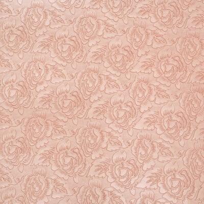 Дизайнерска индийска хартия 120 гр за скрапбукинг, арт и крафт 56x76 см EMBOS Pearl Pink Roses HP54