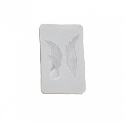 Силиконов молд /форма/ 30x47x9 мм висулки ангелски крила