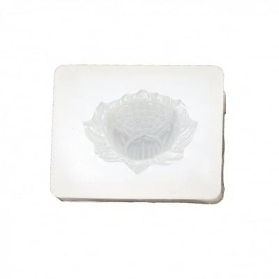 Силиконов молд /форма/ 43x34x15 мм 3 D цвете лотос