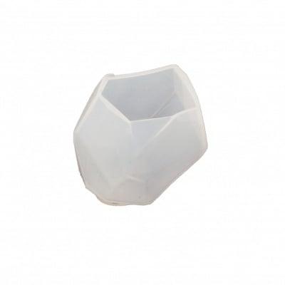 Силиконов молд /форма/ 55x36x73 мм камък