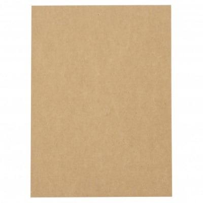 Картон крафт 400 гр/м2 А4 (21x29.7 см) кокос -1 брой