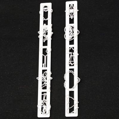 Комплект 2 броя шаблон, резци текстурни релси 250х33 мм Свети Валентин 10 елемента