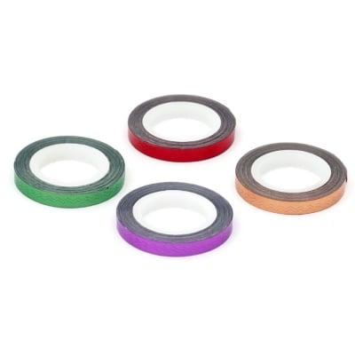 Фолио лента за декорация 6 мм различни цветове