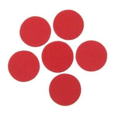 Кръг фоам /EVA материал/ 24x2 мм червен -20 бр