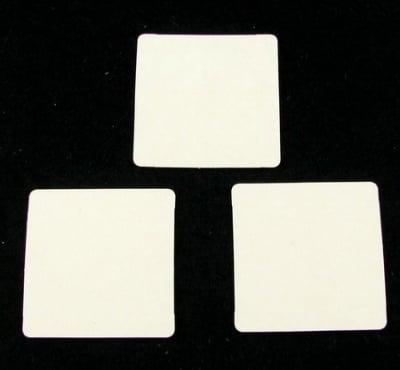 Таг за картичка от бирен картон 42x42 мм -6 бр
