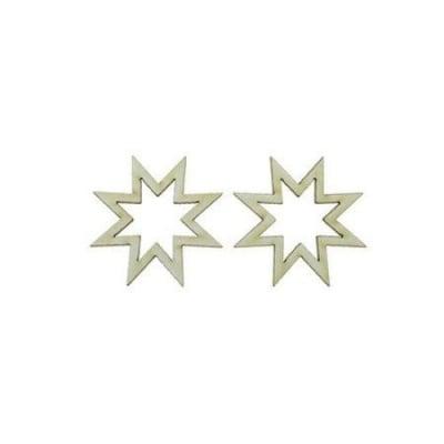Звезда от бирен картон 50x1мм -2 броя