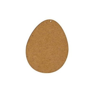 Фигурка кафява МДФ за декорация яйце 100x80x2 мм