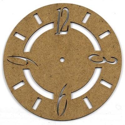 Фигурка кафява МДФ за декорация часовник 200x2 мм