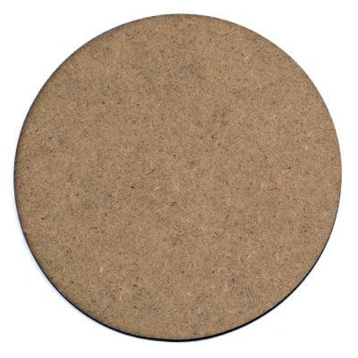 Фигурка кафява МДФ за декорация кръг 175x2 мм
