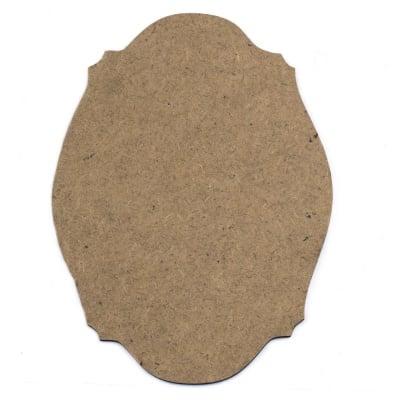 Фигурка кафява МДФ за декорация пано 250x170x2 мм