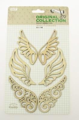 Комплект за декорация дърво - крила
