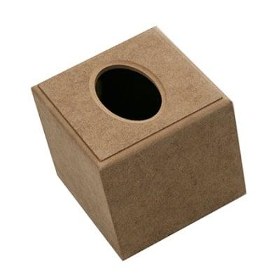 Кутия MDF за салфетки 13x13x12 см