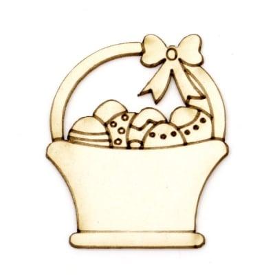 Кошница с яйца от бирен картон 50x40x1 мм -2 броя