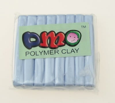 Полимерна глина лилава бледо - 50 грама