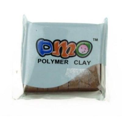 Полимерна глина металик кафява - 50 грама