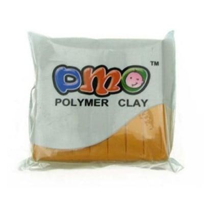 Полимерна глина жълта тъмно - 50 грама