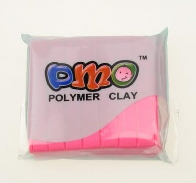 Полимерна глина розова светло - 50 грама
