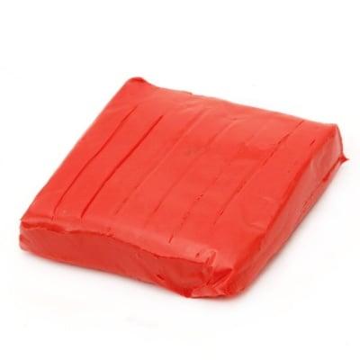 Полимерна глина червена светло - 50 грама