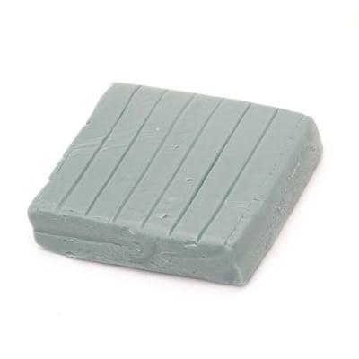 Полимерна глина сива тъмно - 50 грама