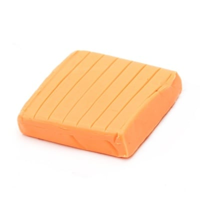 Полимерна глина неон оранжева светло- 50 грама