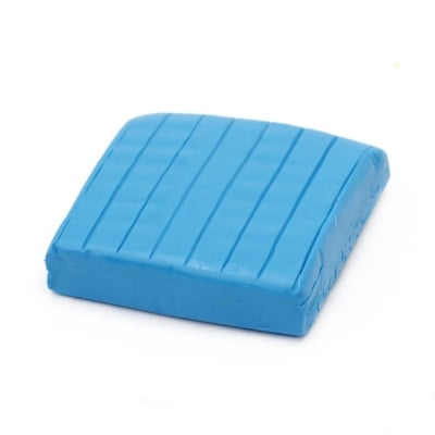 Полимерна глина неон синя - 50 грама