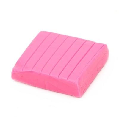 Полимерна глина луминесцентна розова тъмно - 50 грама