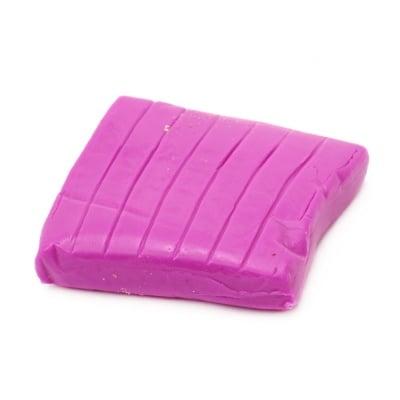 Полимерна глина луминесцентна лилава - 50 грама