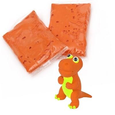Самосъхнещ моделин цвят оранжев -14~15 грама